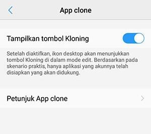 cara menggunakan 2 whatsapp - Clone App