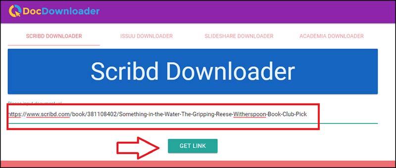Cara Download Scribd dengan menggunakan DLSCRIB.com