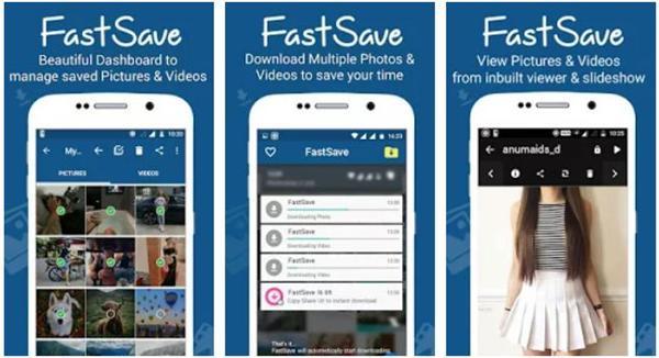 cara download video instagram menggunakan FastSave