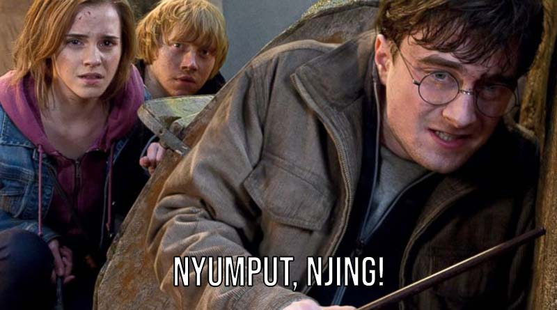Harry potter subtitle indo