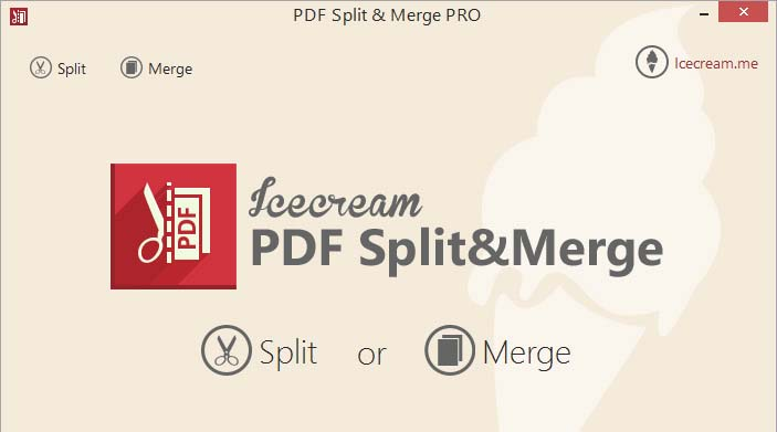 IceCream PDF Split & Merge