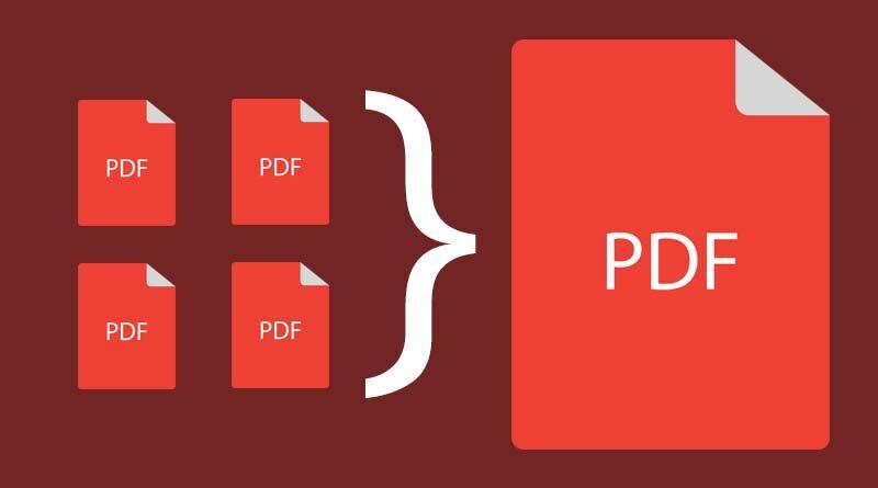 Menyatukan file PDF