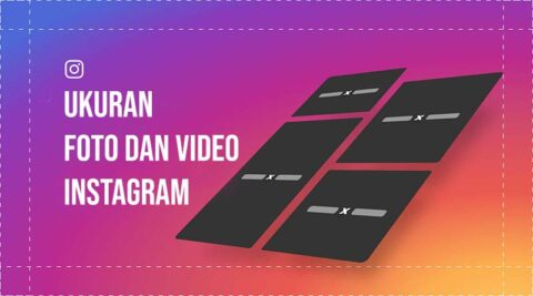 Ukuran dan video instagram