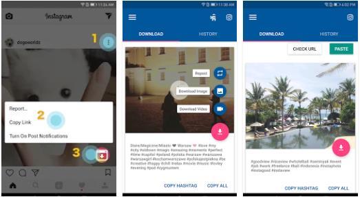 cara download video instagram menggunakan Video Downloader