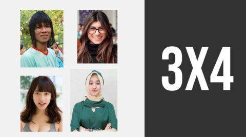 Cara ubah foto jadi 3 x 4 online