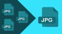 Menggabungkan file JPG