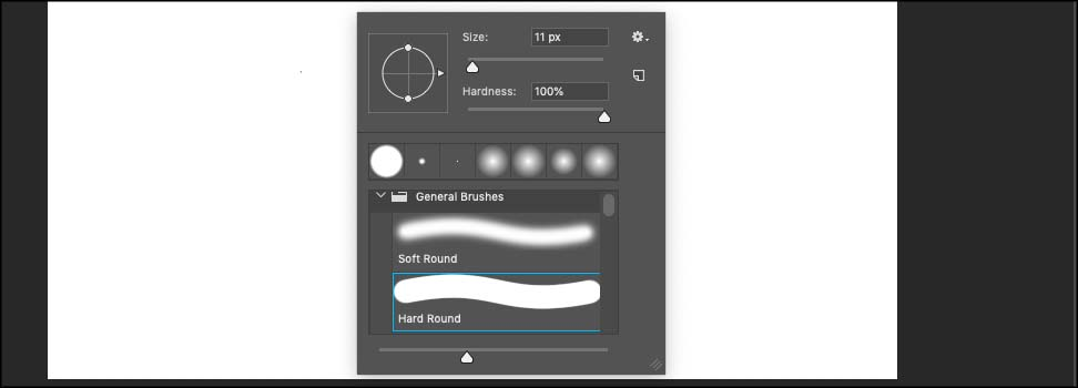 brush tool setting