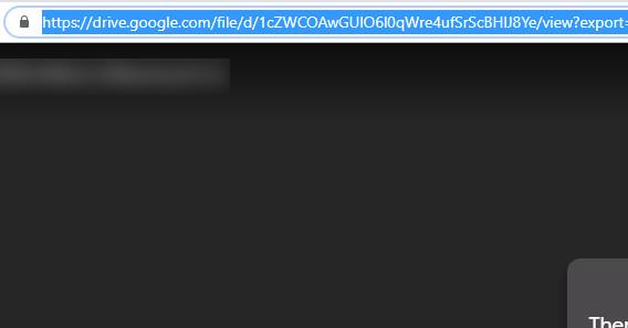 Buka link Google Drive