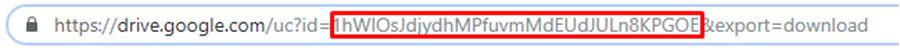 membuka link Google Drive