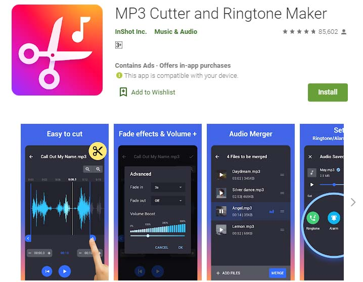 Aplikasi Rekaman Lagu Terbaik Android