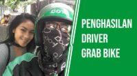 Penghasilan driver grab bike