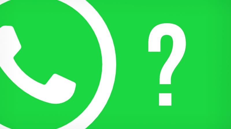 Pertanyaan seputar whatsapp