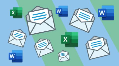 mail merge word excel