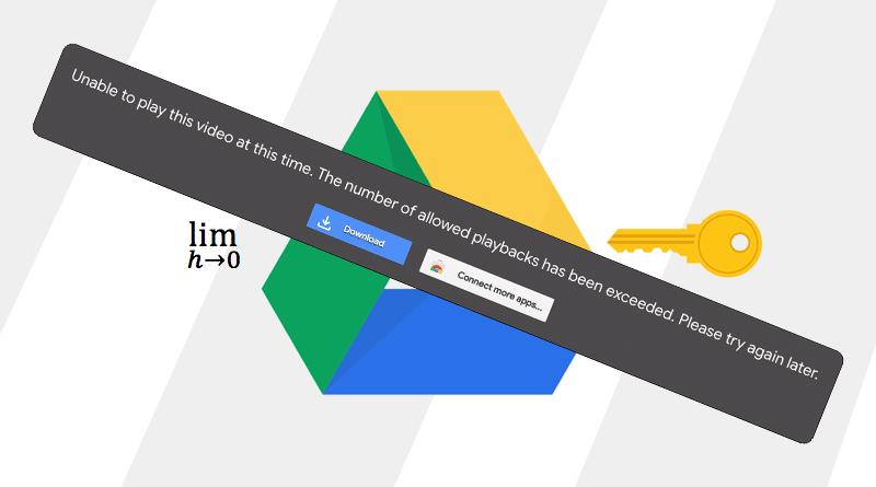 mengatasi limit google drive