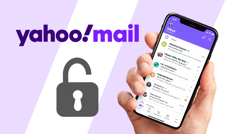 yahoomail reset password