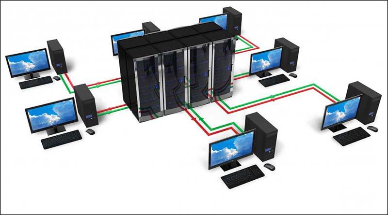 Jaringan server dan komputer