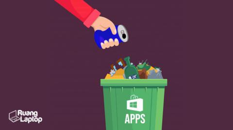 cara uninstall aplikasi windows 10