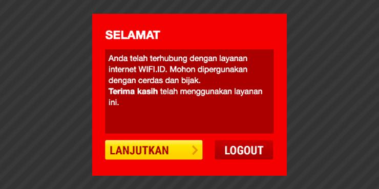 wifi id logout
