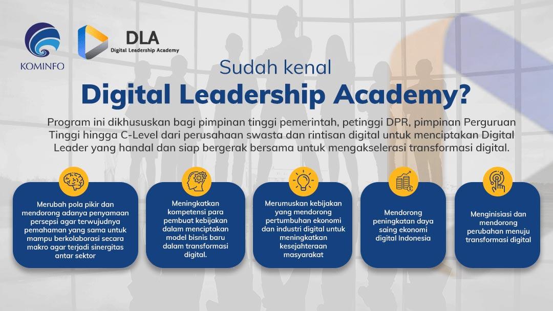 Digital Leadership Academy Kominfo