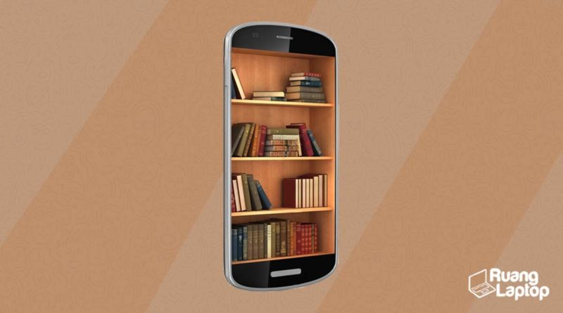aplikasi perpustakaan smartphone ruanglaptop