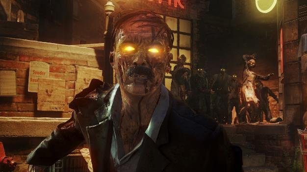 muka zombie jelek cod black ops 4