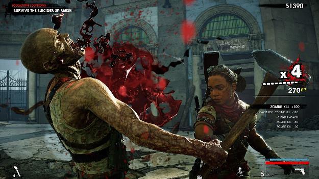 Zombie Army: Dead War 4 membunuh zombie hingga berdarah