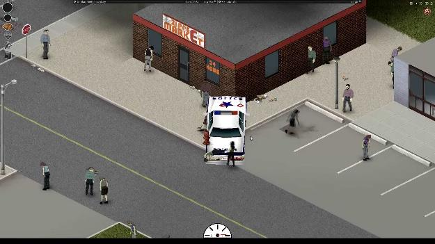 project zomboid mobil polisi