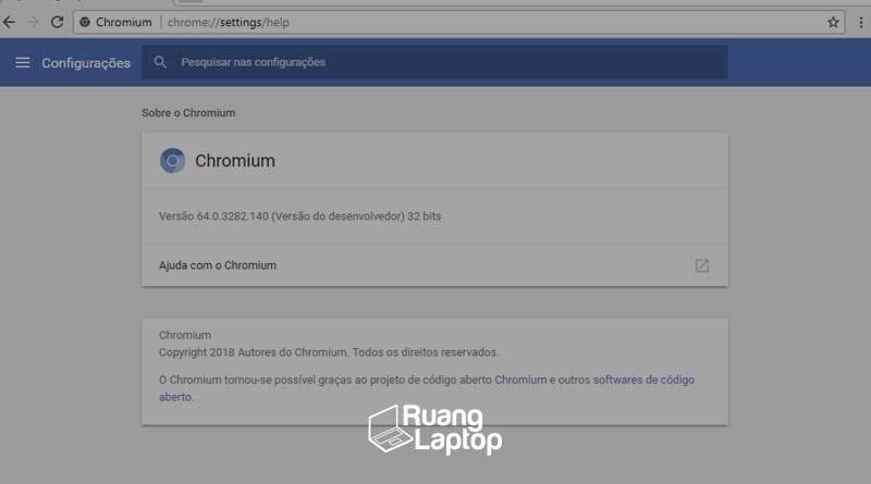 cara menghapus chromium ruanglaptop