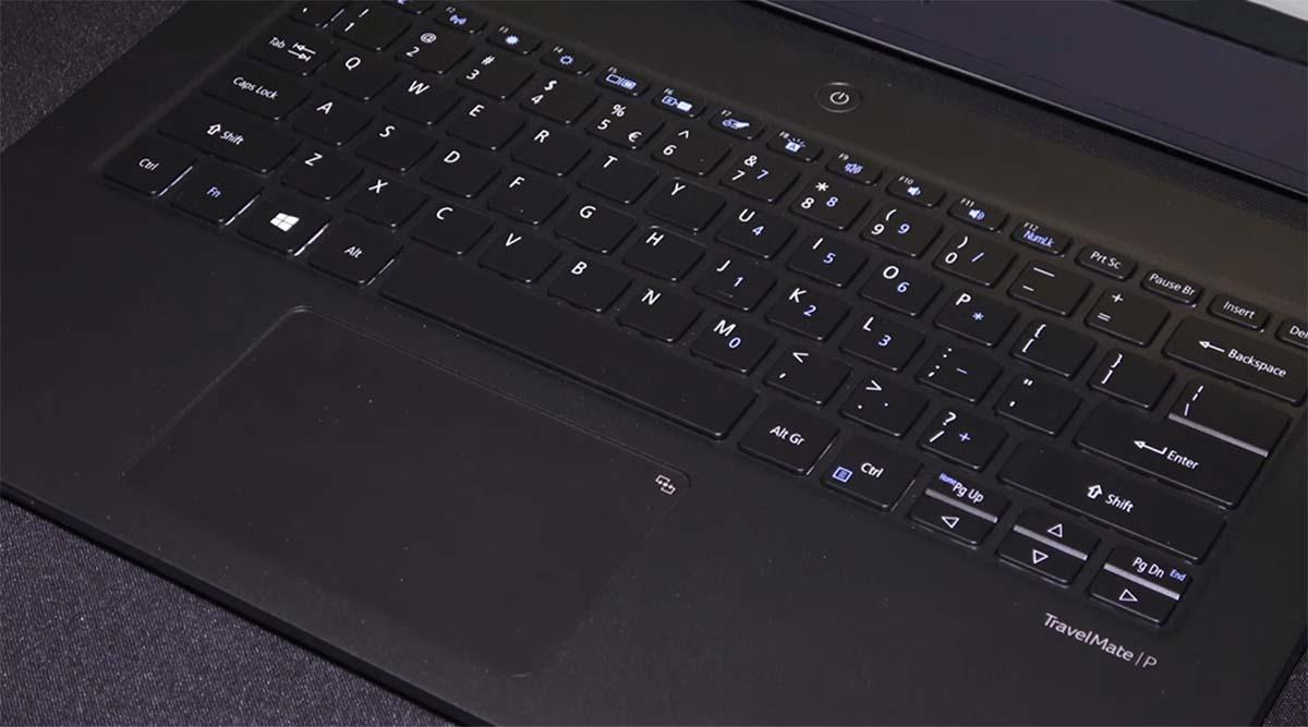 Acer TravelMate P6 (2020) keyboard