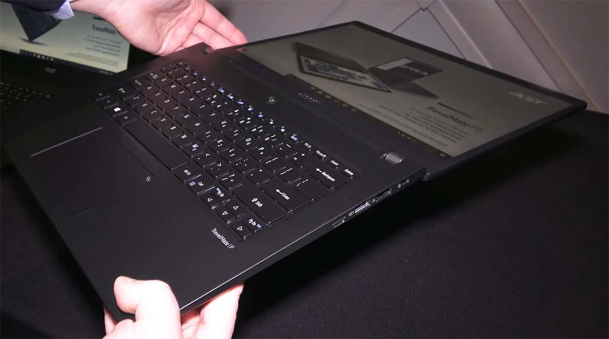 Acer Travelmate P6 2020 lurus