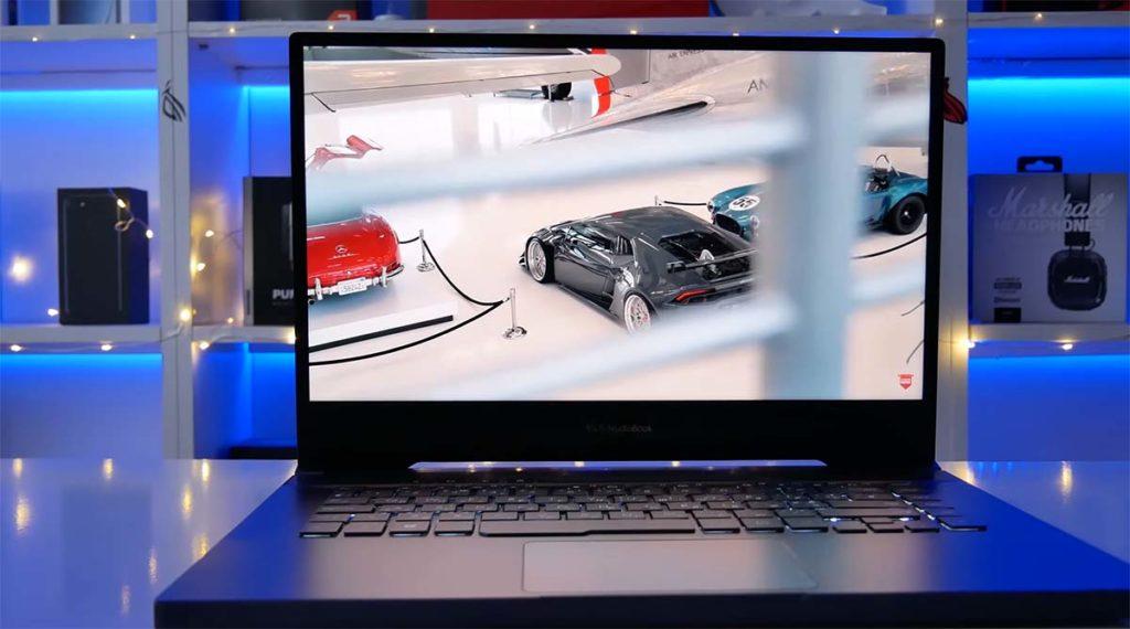 Asus Proart Studiobook 15 layar