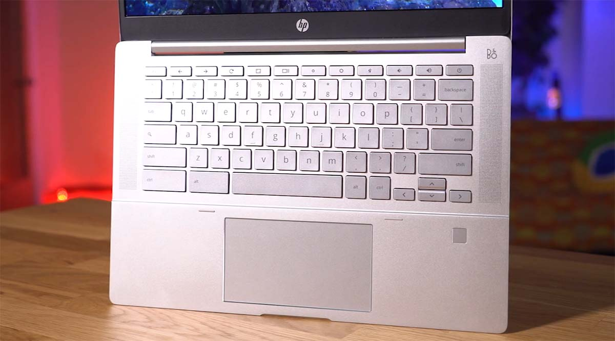 HP Pro C640 Chrome Enterprise keyboard