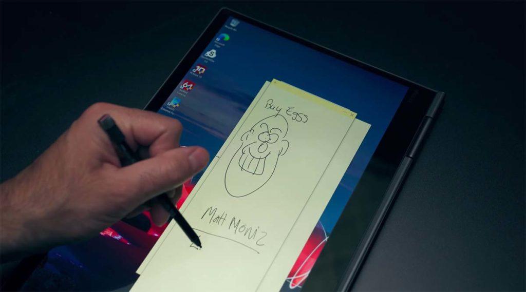 Lenovo ThinkPad X1 Yoga (5th Gen, 2020) stylus