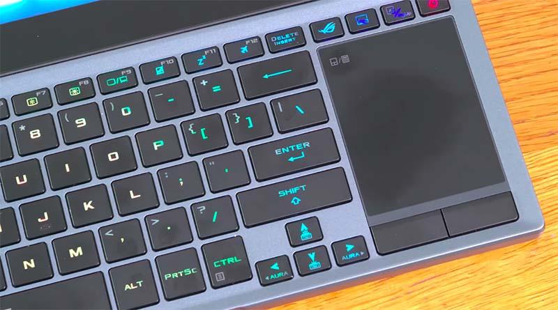 keyboard Asus ROG Zephyrus Duo 15