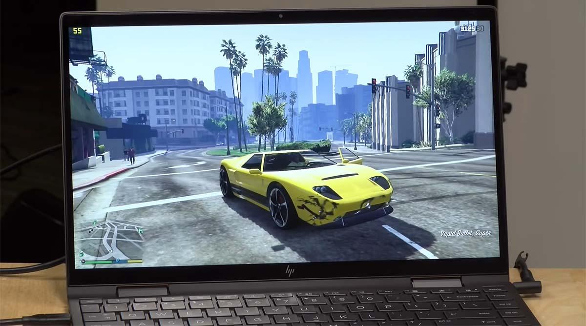 HP Envy x360 13 (2020) layar