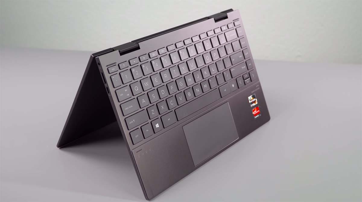 HP Envy x360 13 (2020) tent