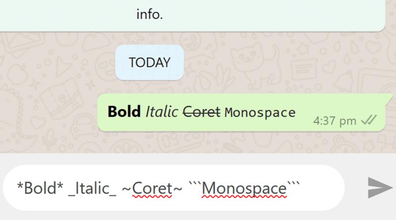 bold italic coret monospace