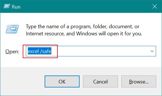 Membuka File Dengan Safe Mode dan Disable Add-Ins Excel