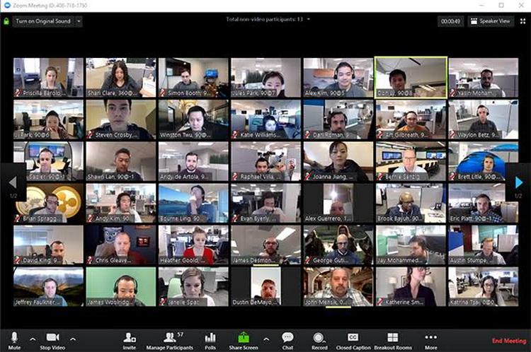 aplikasi meeting online Zoom