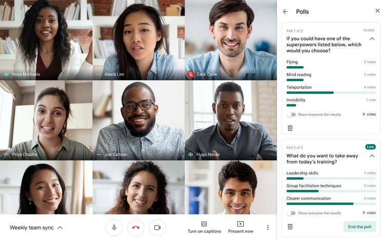 aplikasi meeting online Google Meet