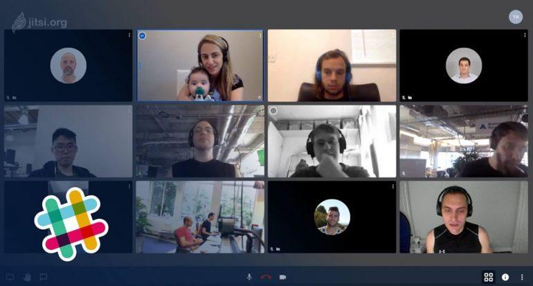 Aplikasi Meeting Online Slack