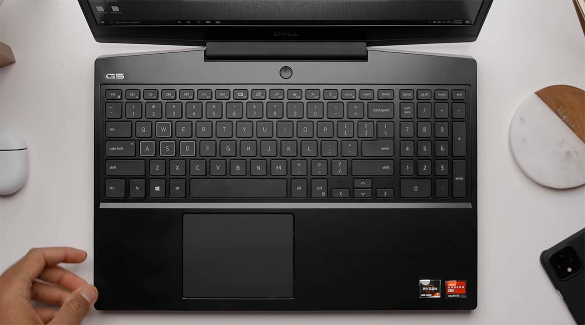 DELL G5 15 SE keyboard touchpad