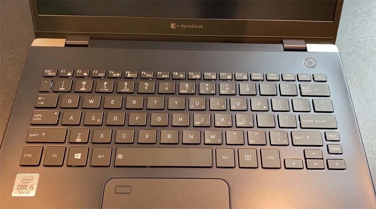 DynaBook Portege X30L-G keyboard