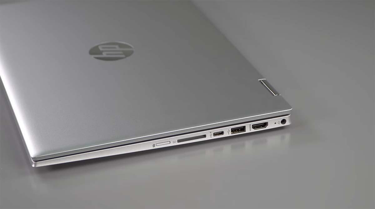 HP Pavilion x360 14 LTE (2020) port kanan