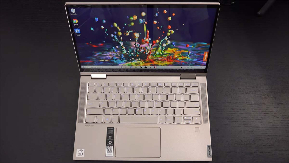 Lenovo Yoga C740 keyboard