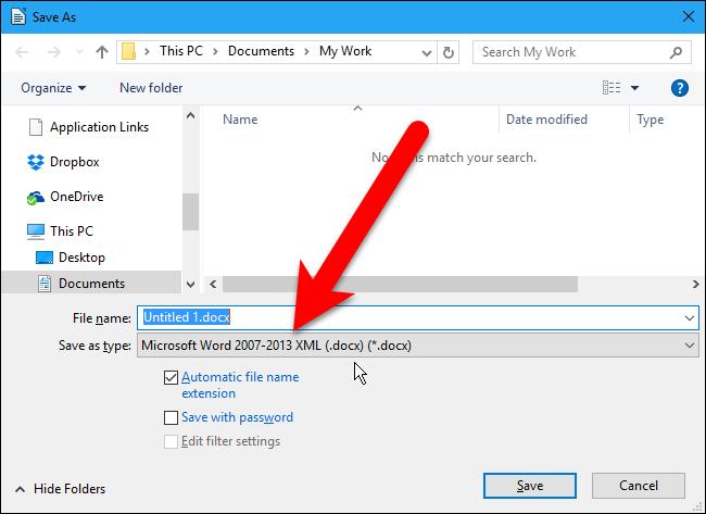 Mengubah Ekstensi File Word yang Tidak Bisa Dibuka