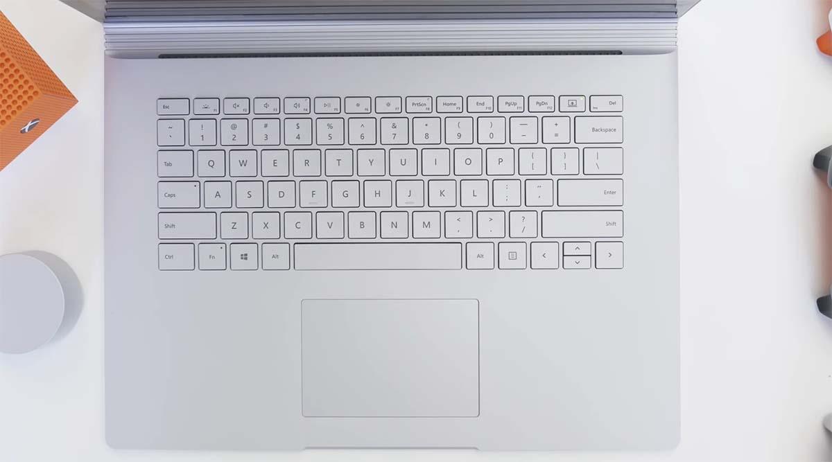Microsoft Surface Book 3 (15 inch) keyboard