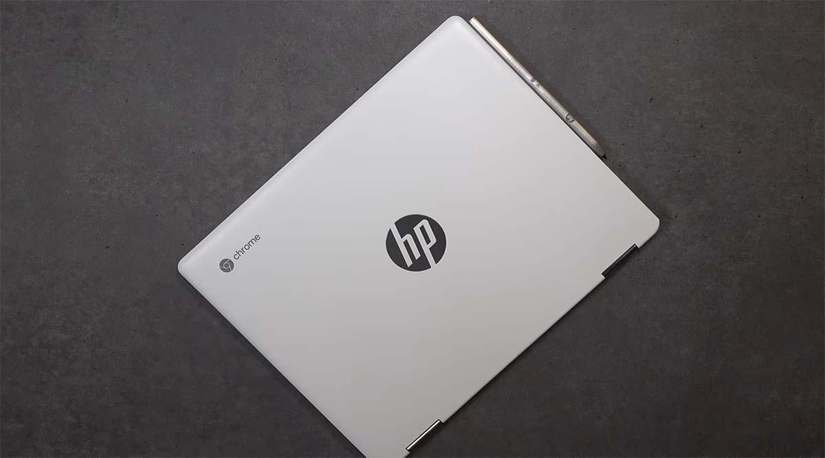 Review HP Chromebook x360 12b desain