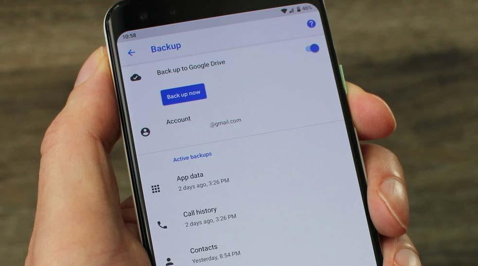 back up data ponsel