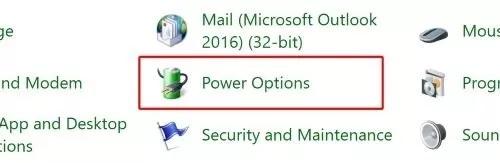 Cari Power Option